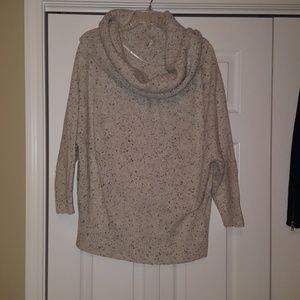 Joie cowl neck thick knit sweater, size small